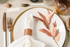 22 copper glasses, tableware and accessories are right what you need for a festive table
