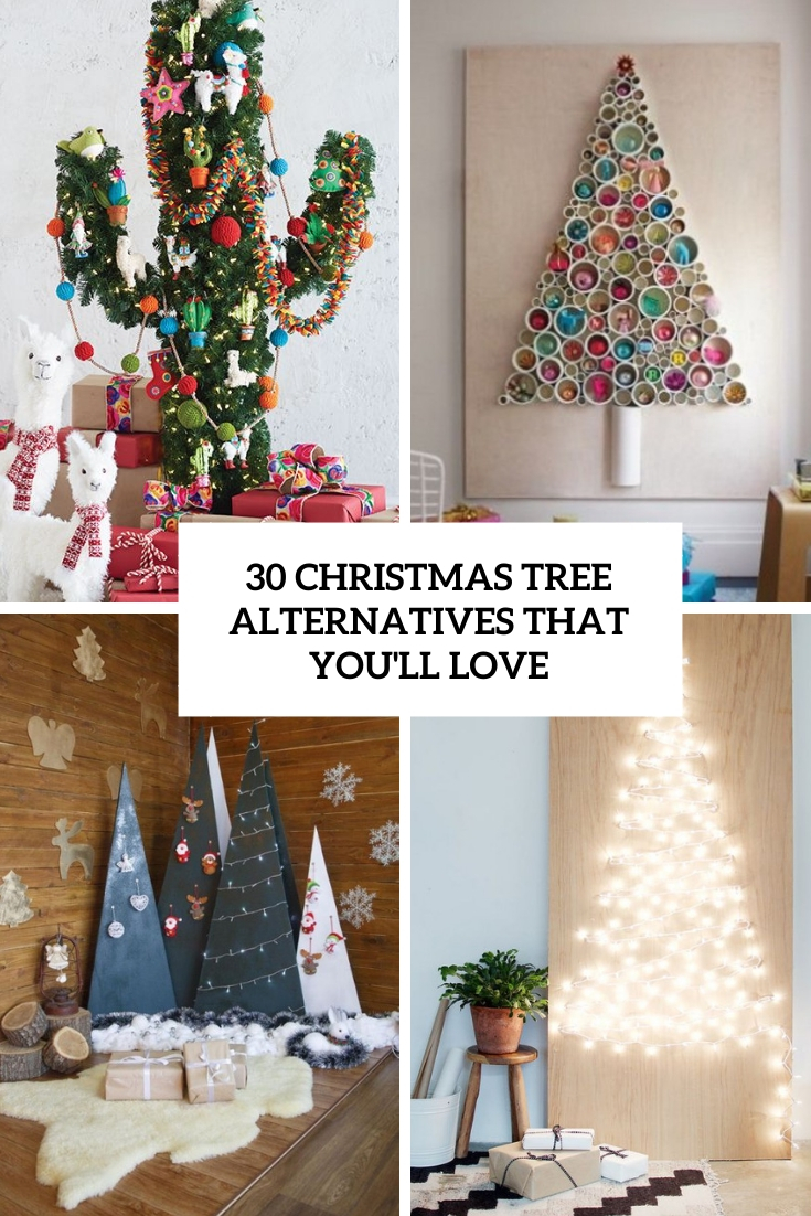 christmas tree alternatives that you'll love cover
