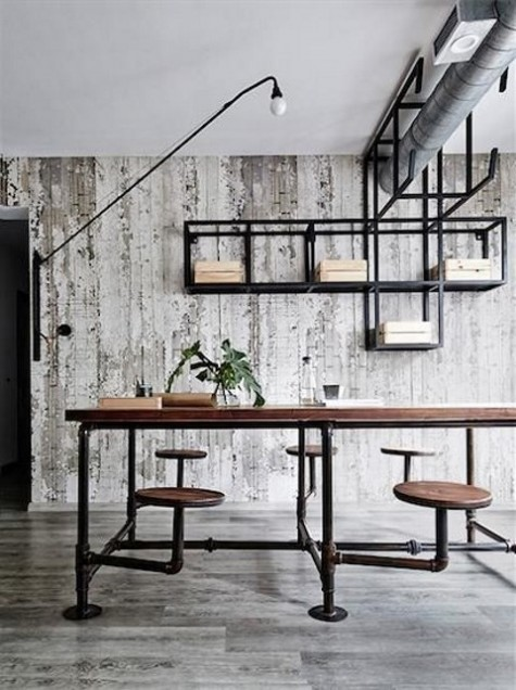 25 Stylish Industrial Home Office Decor Ideas Shelterness