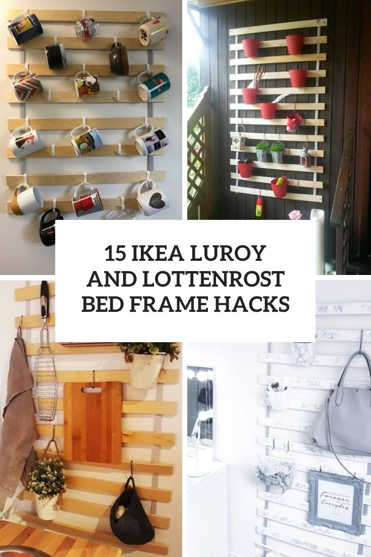 ikea luroy and lottenrost bed frame  hacks  cover