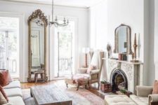 16 this gorgeous ornate fireplace takes over the whole room and makes it very special and very refined