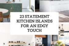 23 statement kitchen islands for an edgy touch cover