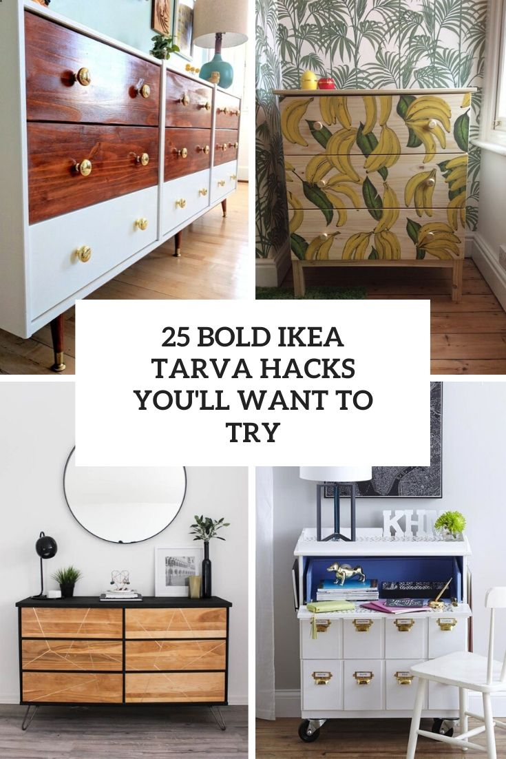 bold ikea tarva hacks you'll want to try cover