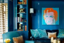 06 bold monochromatic rooms are a trend fo this year, and you can go with bold classic blue all over