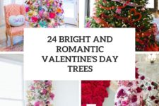 24 bright and romantic valentine's day trees cover