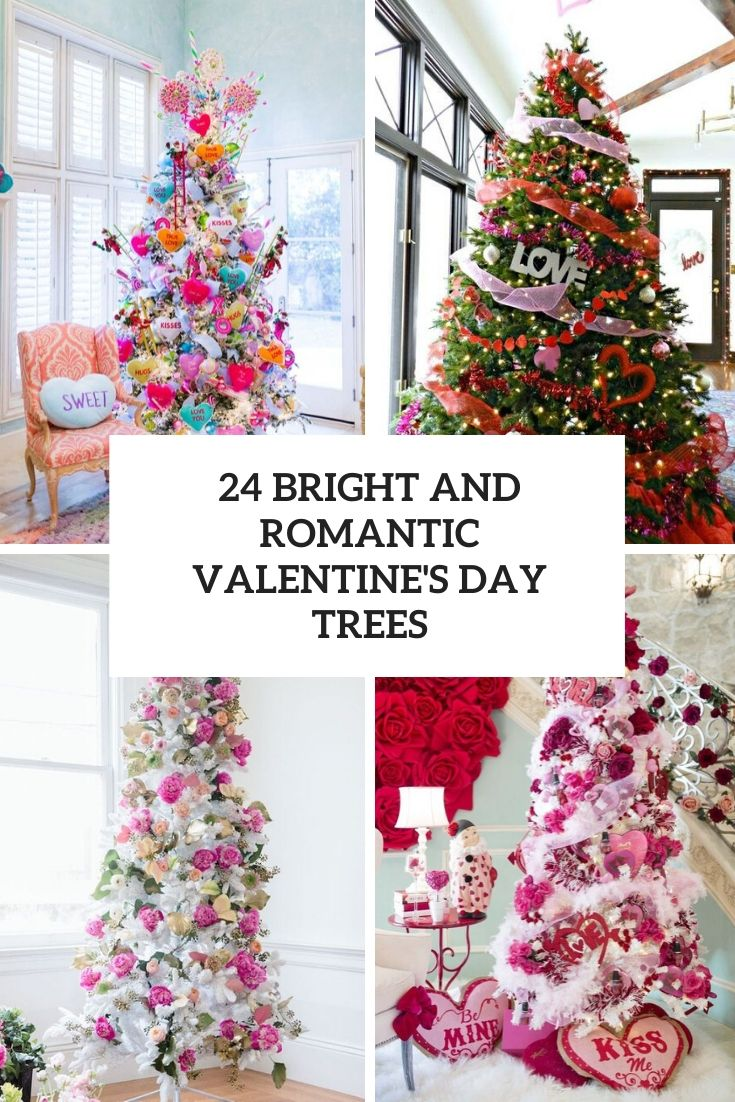 24 Bright And Romantic Valentine's Day Trees