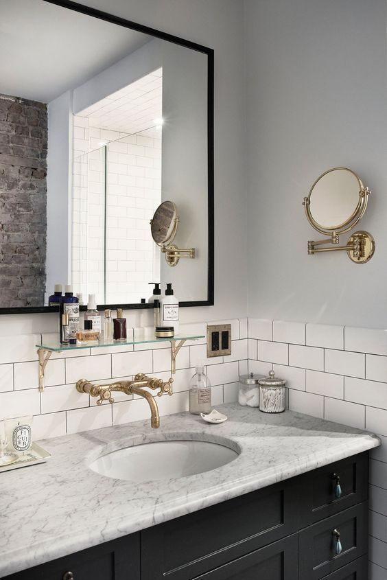 25 Subway Tile Ideas For Your Bathroom
