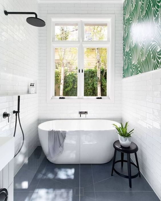 25 Stylish Ways To Mix And Match Bathroom Tiles Shelterness