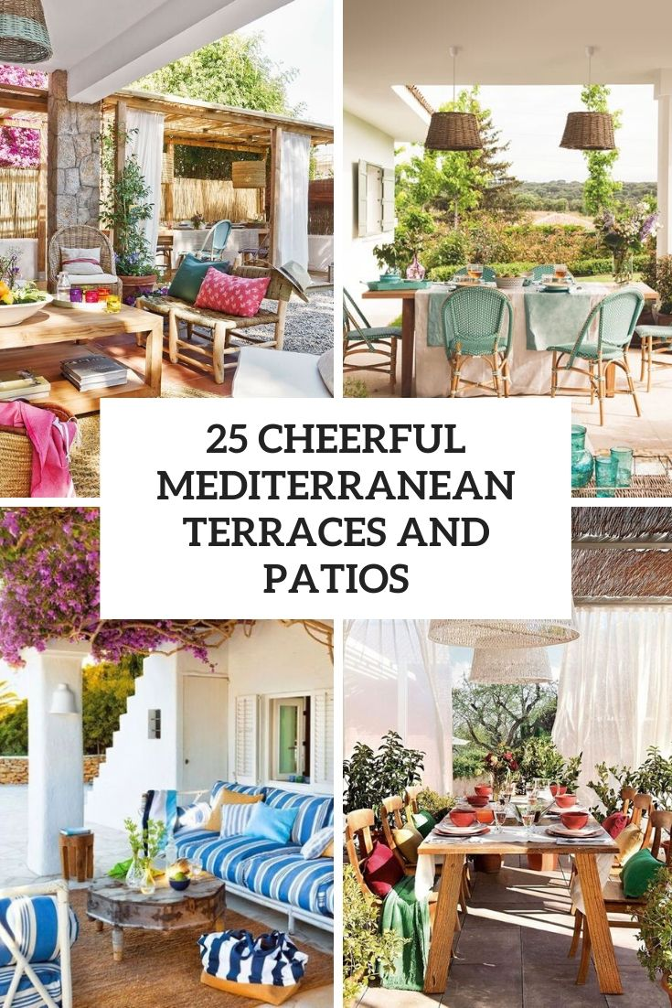 cheerful mediterranean terraces and patios cover