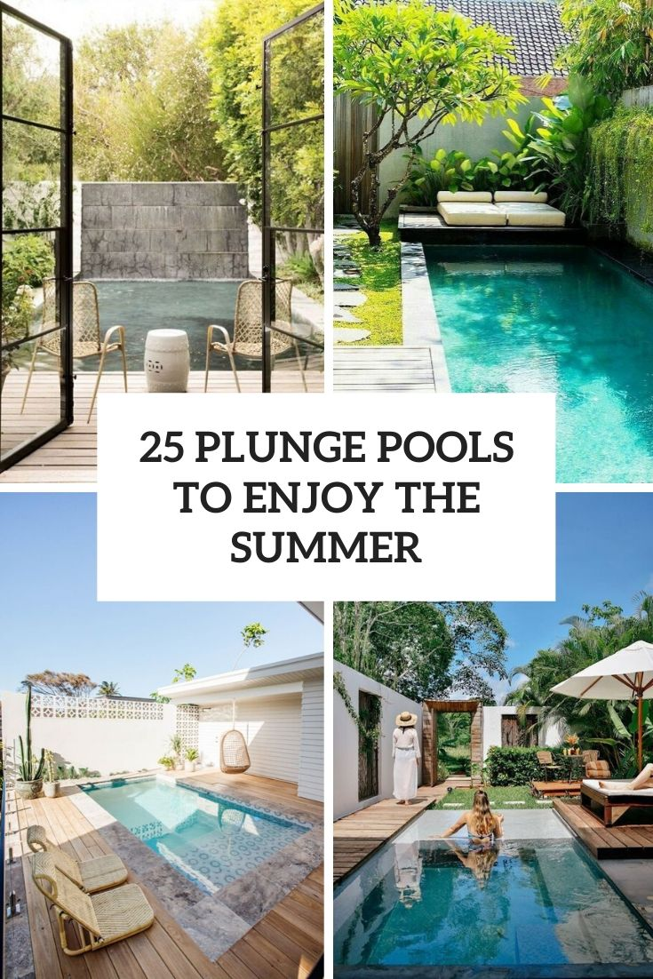 25 Plunge Pools To Enjoy The Summer