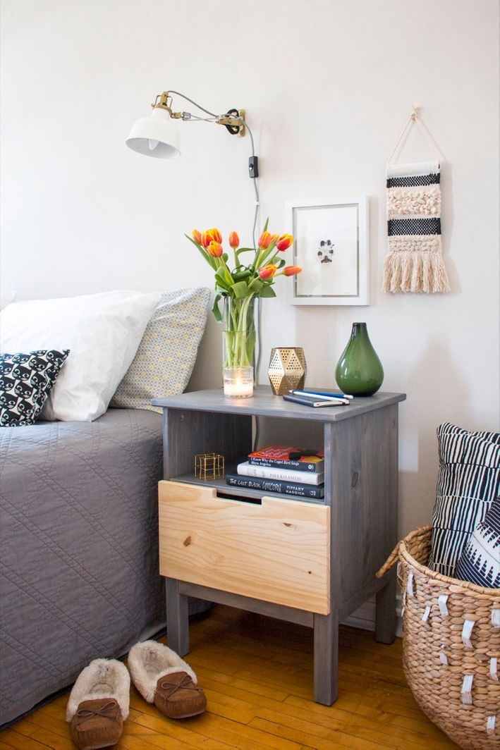 25 Ikea Nightstand Hacks You Need To Try Shelterness
