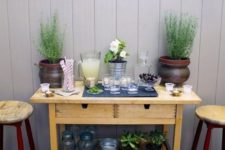 08 use your IKEA Forhoja cart as a simple outdoor or indoor bar, hack it or leave it as it is