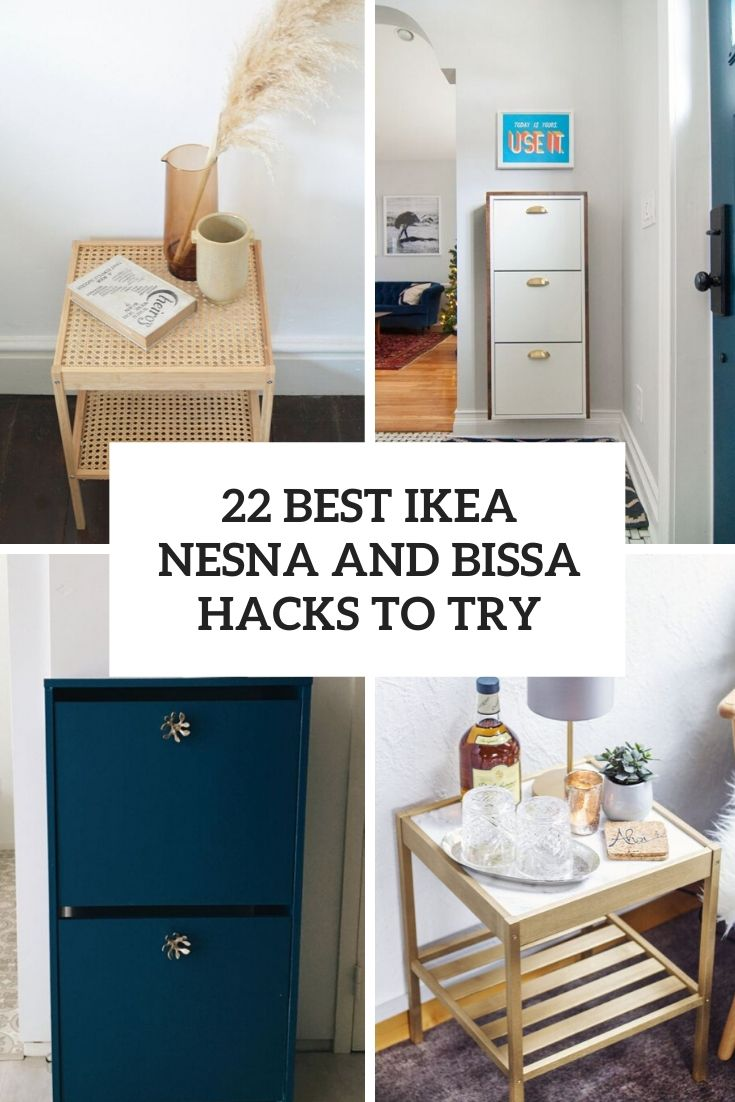 22 Best IKEA Nesna And Bissa Hacks To Try
