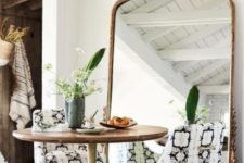 24 spruce up your small dining room with an oversized mirror in a refined frame