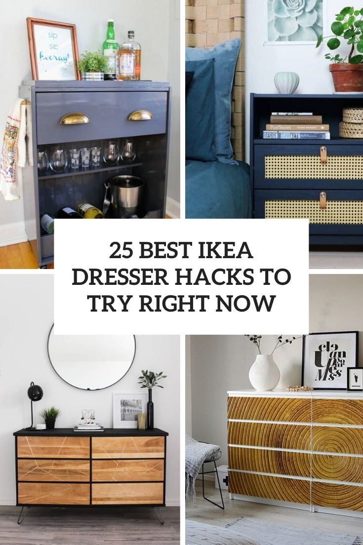25 Best IKEA Dresser Hacks To Try Right Now