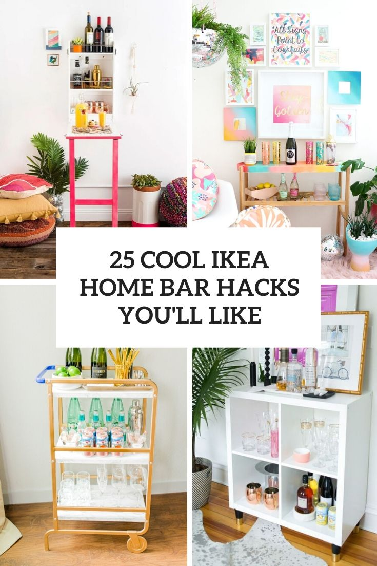 25 Cool IKEA Home Bar Hacks You'll Like