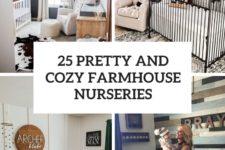 25 pretty and cozy farmhouse nurseries cover