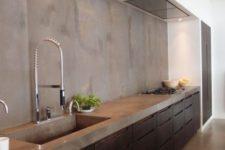 cool industrial kitchen design