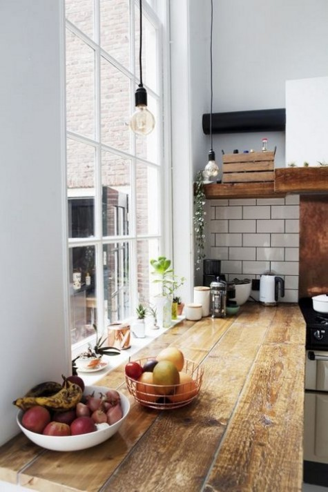 kitchen design with Scandinavian touches