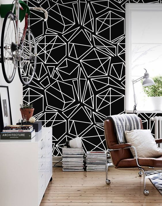 25 Black Accent Walls That Make A Statement Shelterness