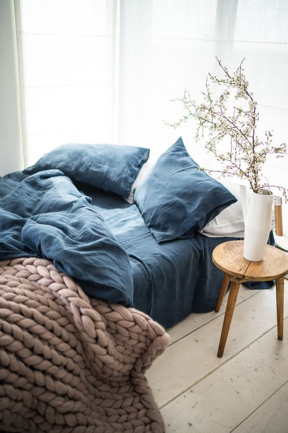 chic and cozy bedding will refresh your bedroom no worse than any other color touches