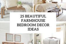 25 beautiful farmhouse bedroom decor ideas cover