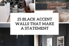 25 black accent walls that make a statement cover