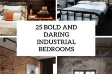 25 bold and daring industrial bedrooms cover