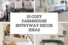 25 cozy farmhouse entryway decor ideas cover