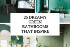 25 dreamy green bathrooms that inspire cover