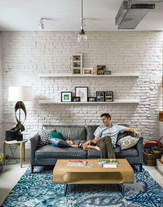 25 White Brick Walls That Are Anything But Boring Shelterness