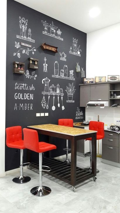 25 Cool Chalkboard Kitchen Decor Ideas Shelterness