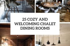 25 cozy and welcoming chalet dining rooms cover