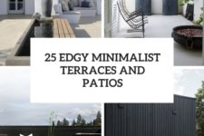 25 edgy minimalist terraces and patios cover