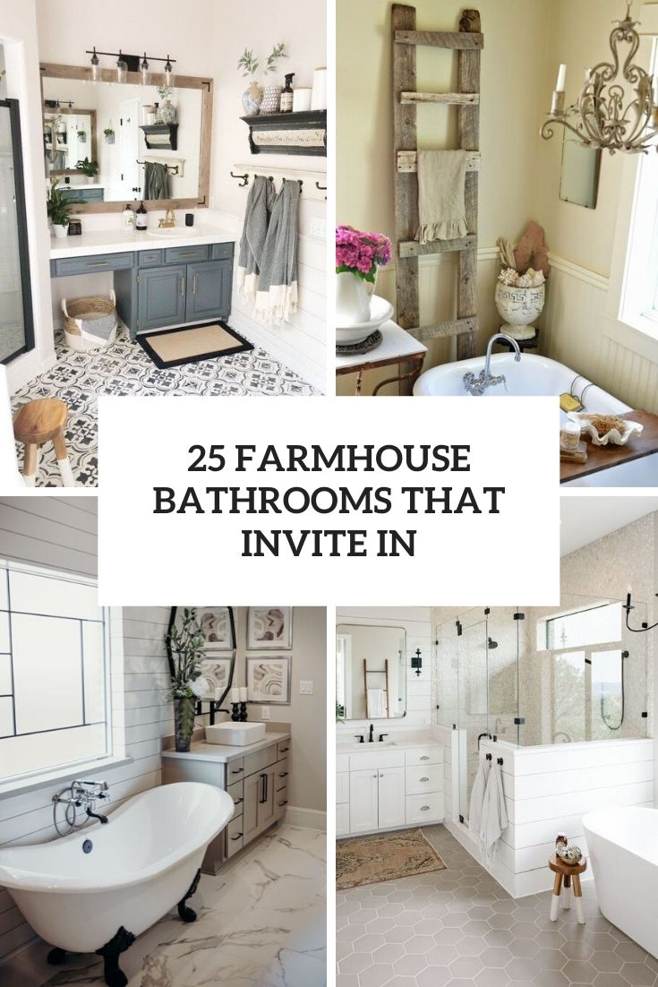 farmhouse bathrooms that invite in cover