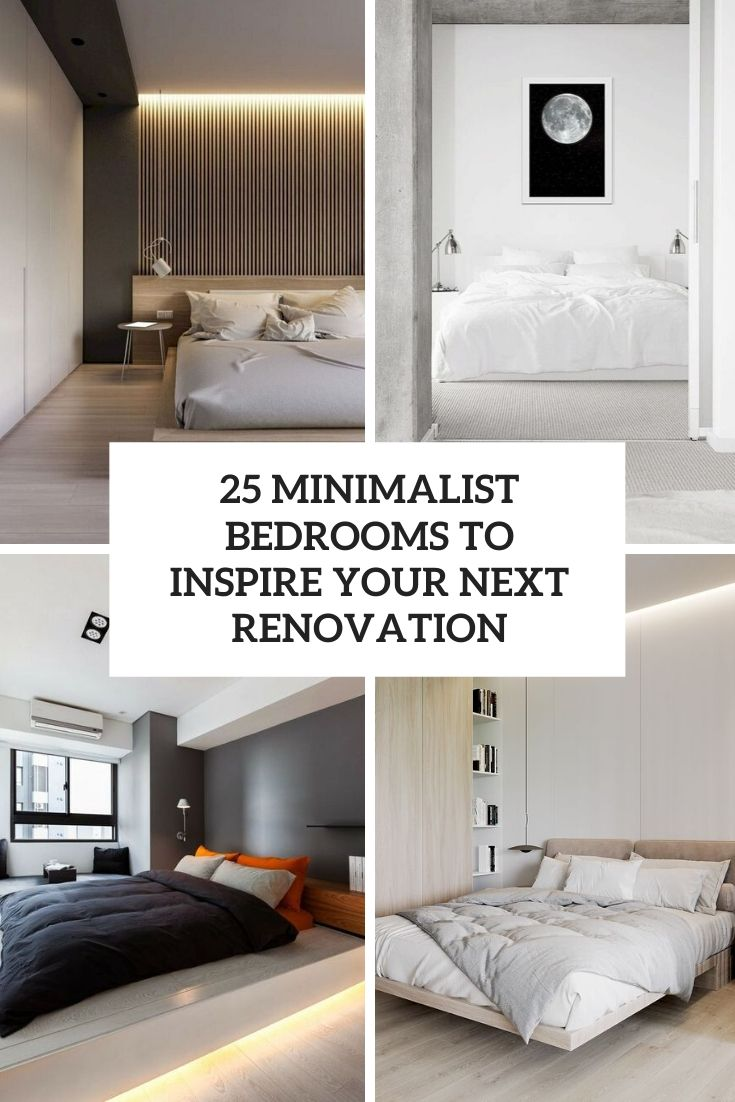 minimalist bedrooms to inspire your next renovation cover
