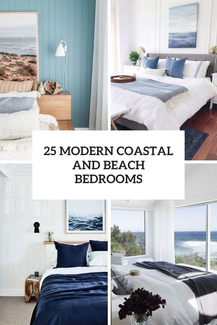 modern coastal and beach bedrooms cover
