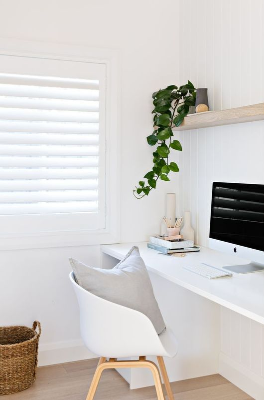 25 Minimalist Home Offices That Inspire Shelterness