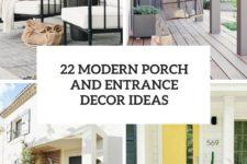 22 modern porch and entrance decor ideas cover