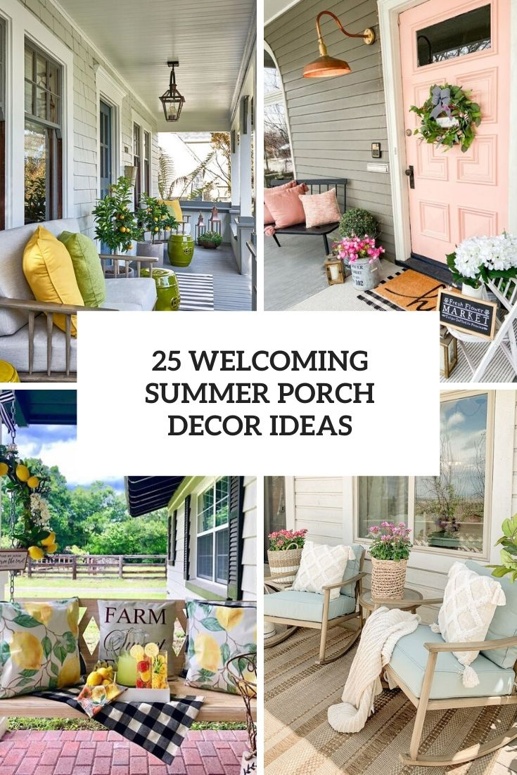 welcoming summer porch decor ideas cover