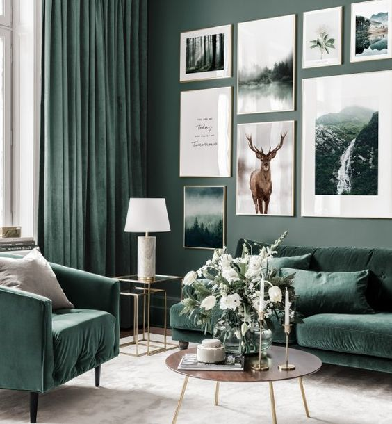 25 Welcoming Green Living Room Decor Ideas Shelterness