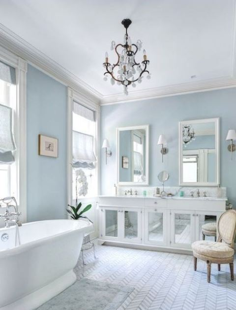 25 Blue Bathrooms That Really Inspire - Shelterness