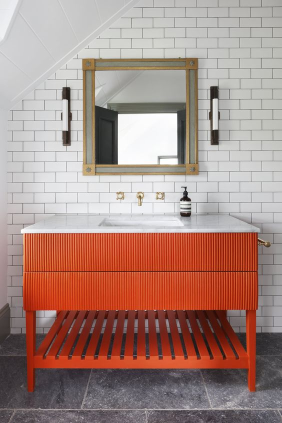 subway tiles ake any bathroom looks quite timeless