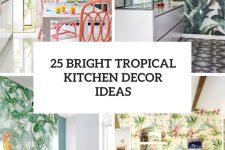 25 bright tropical kitchen decor ideas cover