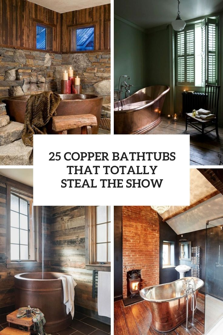 copper bathtubs that totally steal the show cover
