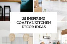 25 inspiring coastal kitchen decor ideas cover