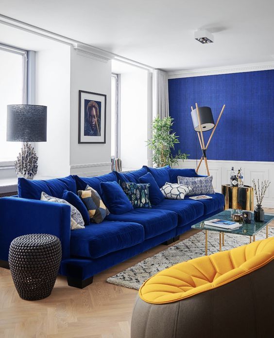 25 Refined Blue Living Room Decor Ideas Shelterness