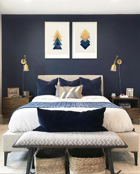 25 Inspiring And Edgy Blue Bedroom Decor Ideas Shelterness