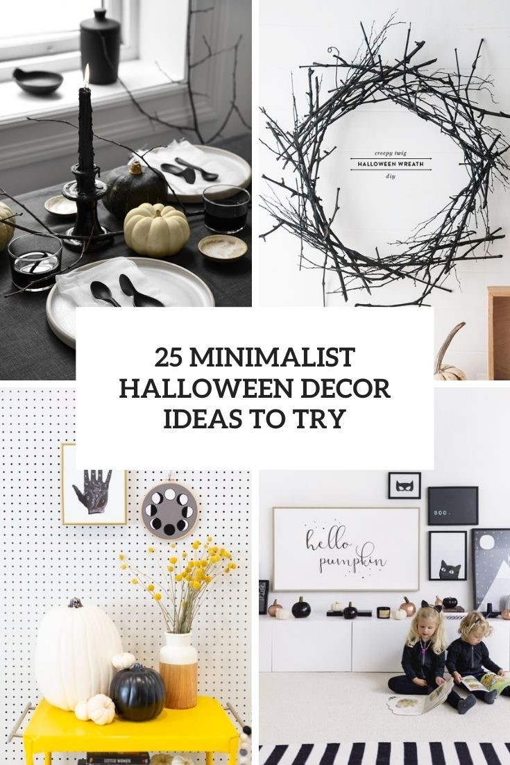 minimalist halloween decor ideas to try cover