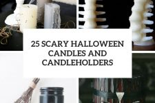 25 scary halloween candles and candleholders cover